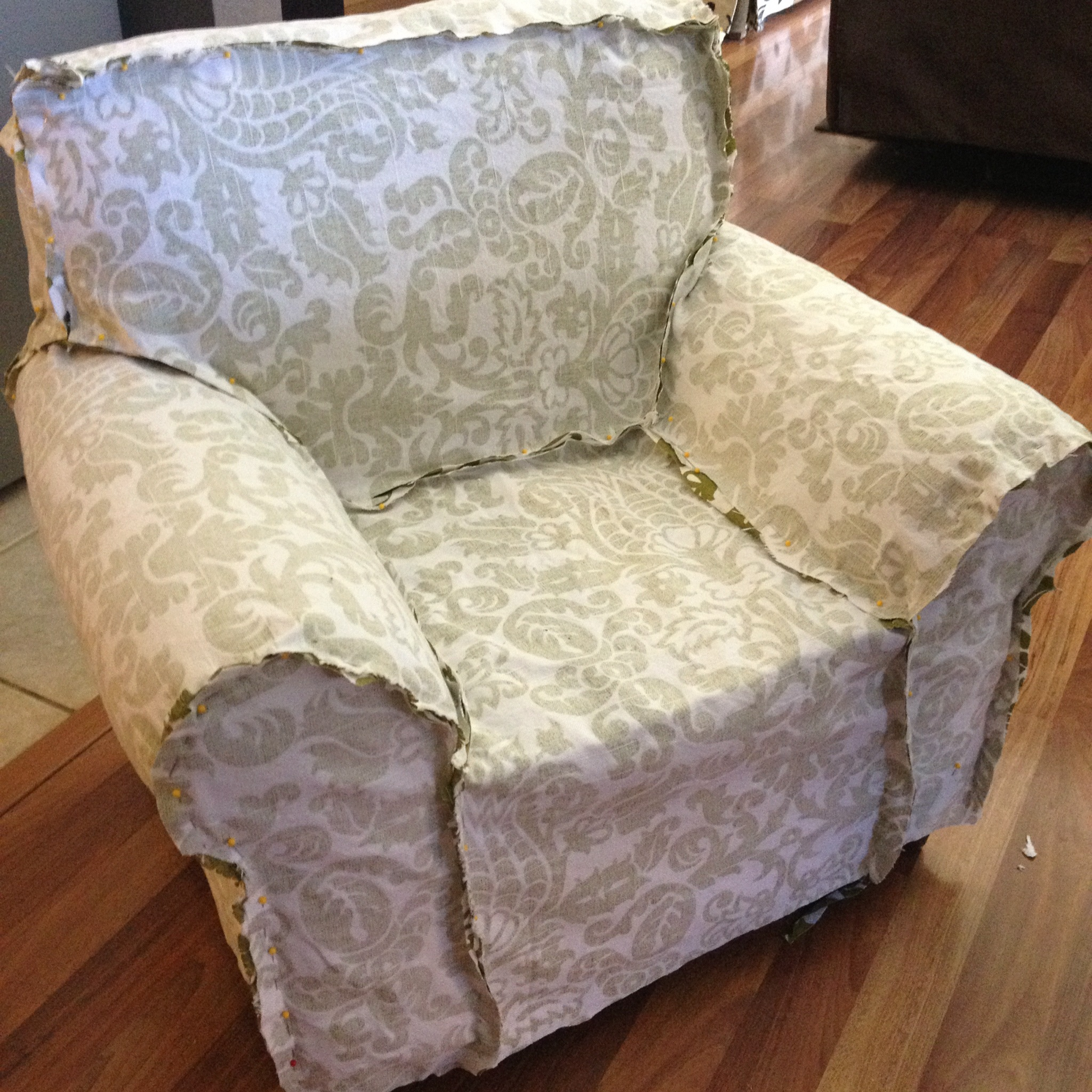 Creating A Slipcover DIY Upholstery Project