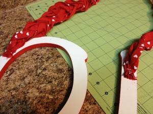 Ribbon Stapled