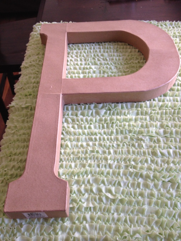 Tracing the Letter P