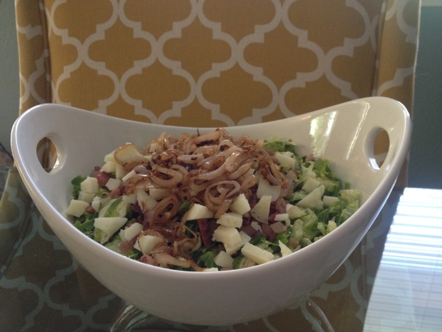 Shaved Brussel Sprout Salad 7