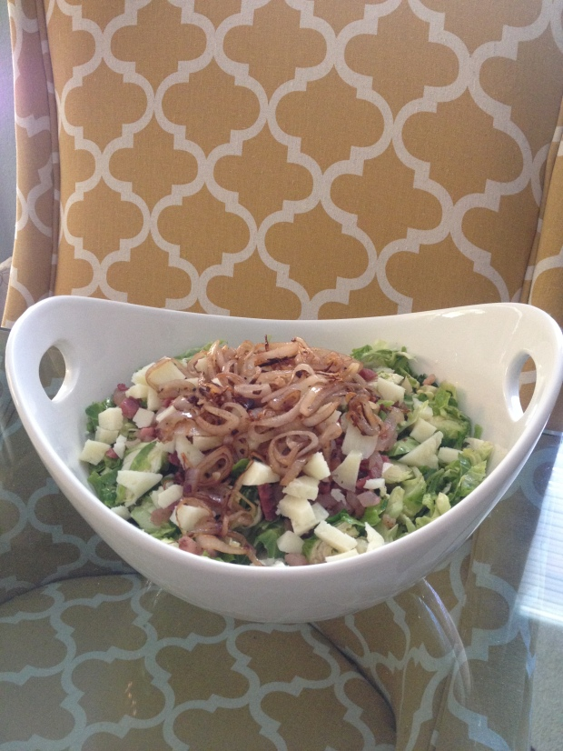 Shaved Brussel Sprout Salad 2