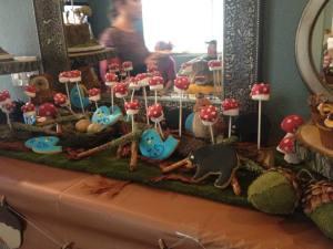 Entry Table Dessert Buffet